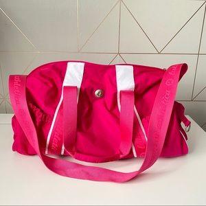 Lululemon Hot Pink Duffle/Gym Bag